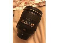 Nikon AF-S NIKKOR 24-120mm f/4G ED VR Lens, like new.