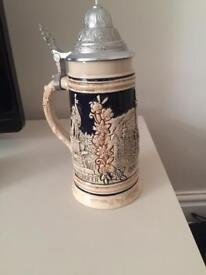 TRADE ME:) 20C Austrian Pottery Beer Stein of Innsbruck