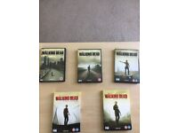 The Walking Dead series 1 to 5