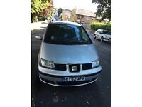 SEAT ALHMBRA 1.9 DIESEL 7 SEATER 2002