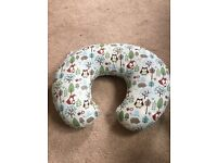 Chicco feeding pillow.