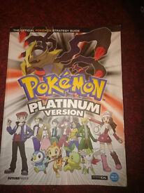 Pokemon Platinum Strategy Guide.