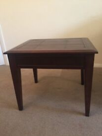 Solid wood side / coffee table