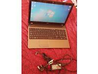 "Acer 5750Z 4gb RAM Pentium CPU B950 Laptop 15.6"" Win7 - Working condition"