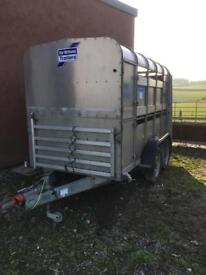 10 X 5 Ifor Williams Cattle Trailer With Decks