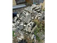 Rubble and shingle