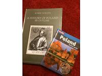 Books - 'History of Poland' & 'Poland pocket guide' NEW