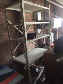 Work benches and Steel racking