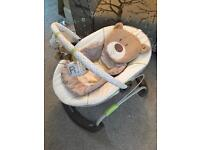 Mothercare 'Loved So Much' vibrating baby chair