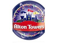 Alton Towers Tickets X 2 Friday 21/09/18
