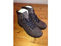 Mountain Warehouse Excalibur Mens Leather Waterproof Boots - Size 10 - Ideal For Trekking & Hiking