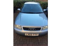 Audi A3 FOR SALE Excellent condition, 3 owners Full service history IDEAL 1st Car. Price negotiable