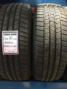 TRAX 0819 ) 2- 265/70R18 MICHELIN 265 70 18 LTX MS2 2657018 TIRES  $ 140