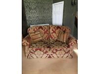 Used Thatchers 2 piece sofa set
