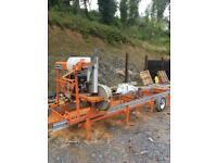 Norwood lumberman mobile sawmill