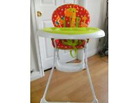 Mothercare Baby High Chair