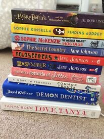 Range of children/ teens book for sale