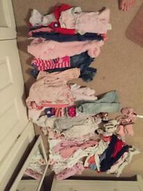 Large 3-6 month bundle £25