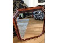 Solid wooden mirror SOLD