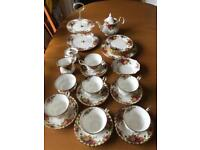 Royal Albert Old Country Rose Full Tea Set - MINT CONDITION! and NEVER USED!