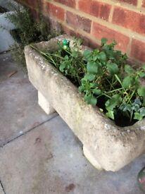 Lovely garden trough