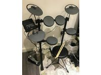 Yamaha Electric Drum Kit (complete kit, sticks, stool, manual, headphones)