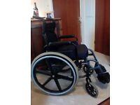 Wheelchair 'Quickie' self propelled