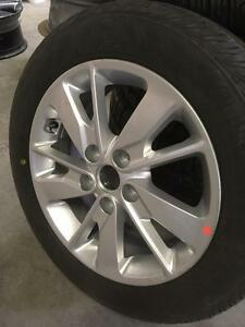 "BRAND NEW TIRE PACKAGE - OEM Kia 16""x6.5"" Rims w/ Continental Contipro Contact 205/55/R16 Tires City of Toronto Toronto (GTA) Preview"