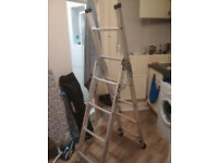 Two-mode aluminium alloy ladder (up to 2.1m)