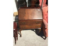 Vintage Bureau with Ball and Claw Feet