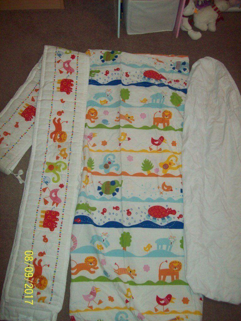 Lovely cot bedding set