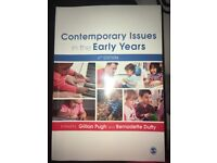 Contemporary Issues in the Early Years textbook