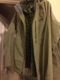 North face Coat (2 in 1 triple climate)