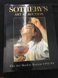 Sotheby's art at auction 1993-1994