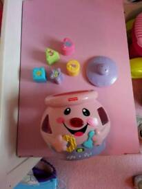 Cookie jar shape sorter