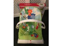 Baby bundle, fisher n price comfort bouncer, beanbag, snuggle nest all used but in great condition.