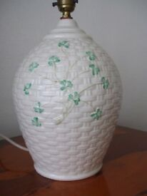 Belleek China Table Lamp