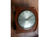 Old Smiths Mantle Clock circa 1955 - Collect in Bow or Mile End