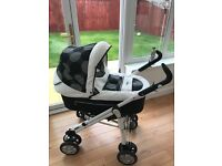 Baby Style 3 in 1 Pram Pushchair Excellent Condition