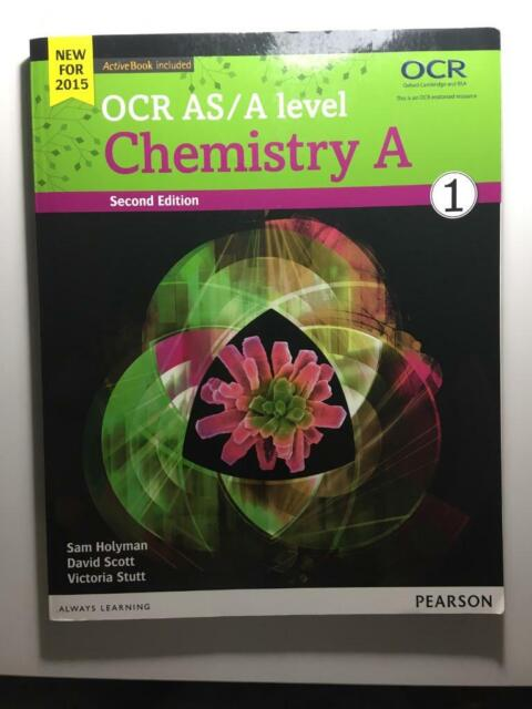 Chemistry OCR A textbook | in Wroughton, Wiltshire | Gumtree