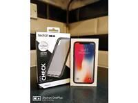Iphone X (10) 256GB O² 11month warranty