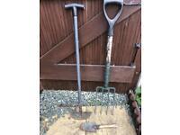 3 garden tools
