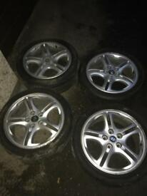Hyundai alloys 17""