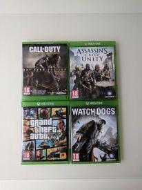 GTA V/Watchdogs/Assasins Creed Unity/COD Advanced Warfare