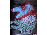 Bundle of newborn/up to 1 month baby girl clothes £6