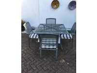 SOLD!...Garden Table and Chairs