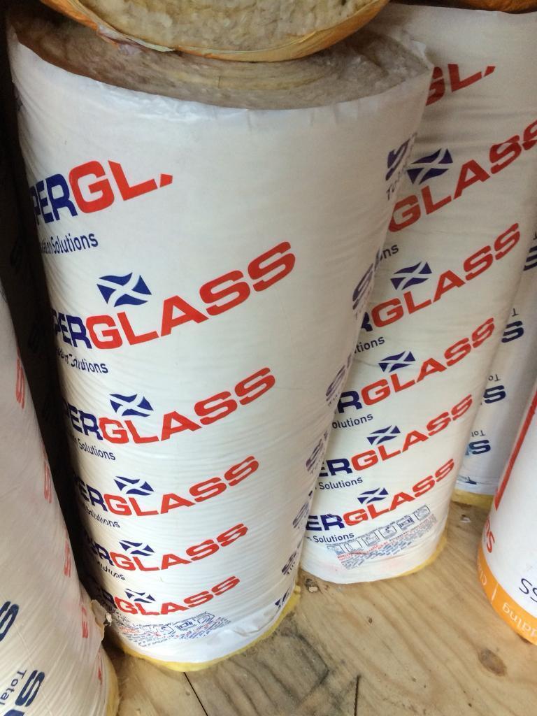 Super glass insulation rolls