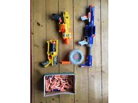Nerf guns assorted