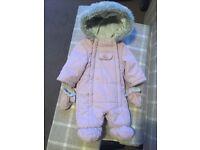 John Lewis current stock newborn snow suit