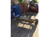 Quad trailer or two bike trailer all woking ready to go could do with 1 tyre still good tread £80